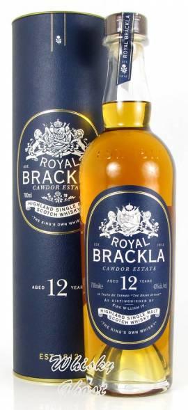 Royal Brackla 12 Jahre 40% Vol. 0,7 Liter - Bild vergrößern
