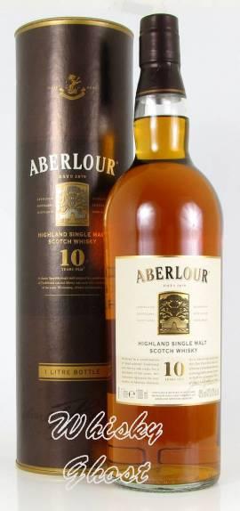 Aberlour 10 Jahre 43% Vol. 1,0 Liter - Bild vergrößern