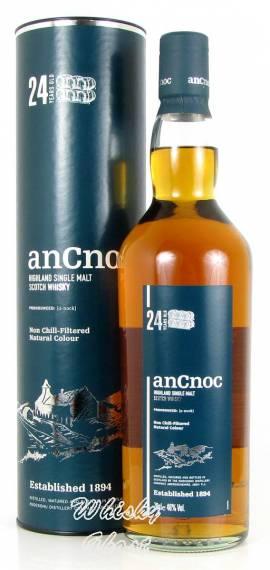 AnCnoc 24 Jahre 46% Vol. 0,7 Liter - Bild vergrößern