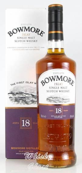 Bowmore 18 Jahre 43,0% Vol. 0,7 Liter - Bild vergrößern