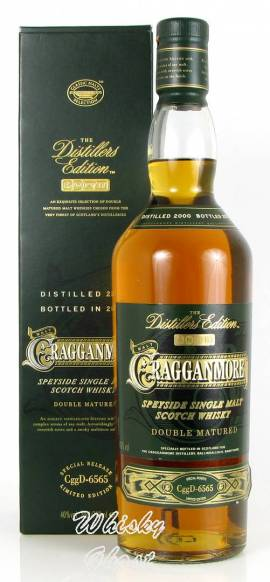 Cragganmore 2000 / 2013 Distillers Edition 40% Vol. 0,7 Liter - Bild vergrößern