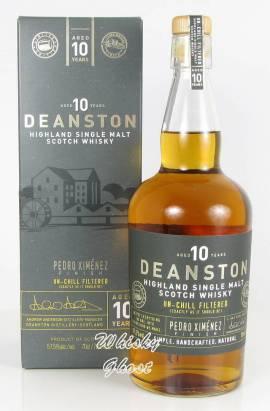 Deanston 10 Jahre Pedro Ximenez Finish 57,5% Vol. 0,7 Liter - Bild vergrößern