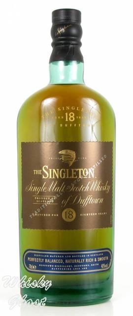 The Singleton Of Dufftown 18 Jahre 40% Vol. 0,7 Liter - Bild vergrößern