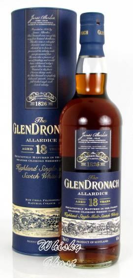 Glendronach 18 Jahre Allardice LG11251 46% Vol. 0,7 Liter - Bild vergrößern
