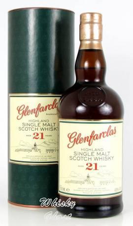 Glenfarclas 21 Jahre 43% Vol. 0,7 Liter - Bild vergrößern
