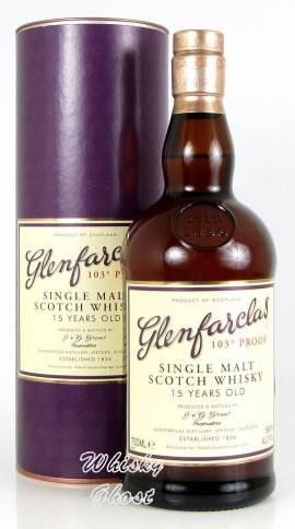Glenfarclas 15 Jahre 103 Proof 58,6% Vol. 0,7 Liter - Bild vergrößern
