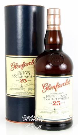 Glenfarclas 25 Jahre 43% Vol. 0,7 Liter - Bild vergrößern