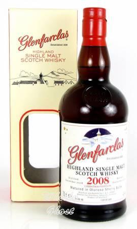 Glenfarclas 2008 / 2018 Christmas Edition 46% Vol. 0,7 Liter - Bild vergrößern