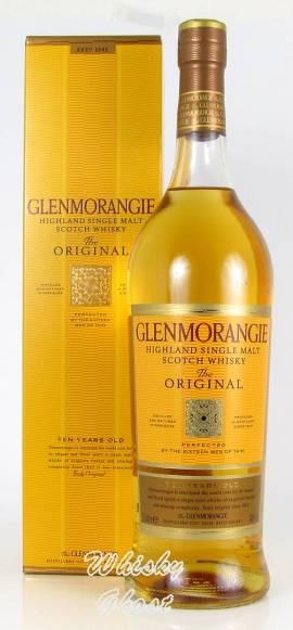 Glenmorangie 10 Jahre The Original 40% Vol. 1,0 Liter - Bild vergrößern