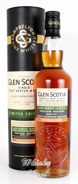 Glen Scotia 2008/2019 Single Cask #18/353-2 54,4% Vol. 0,7 Liter - Bild vergrößern