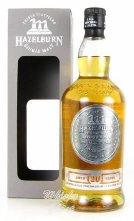 Hazelburn 10 Jahre 2018 18/298 46% Vol. 0,7 Liter - Bild vergrößern