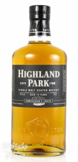 Highland Park 10 Jahre Ambassador's Choice 46% Vol. 0,7 Liter - Bild vergrößern
