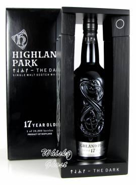 Highland Park 17 Jahre The Dark 52,9% Vol. 0,7 Liter - Bild vergrößern