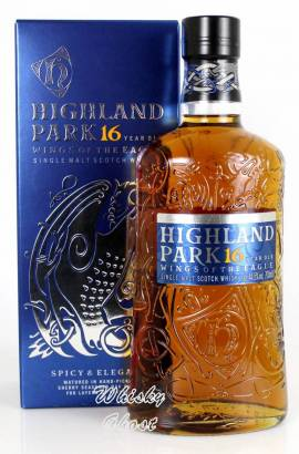 Highland Park 16 Jahre Wings Of The Eagle 44.5% Vol. 0,7 Liter - Bild vergrößern