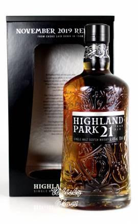 Highland Park 21 Jahre 11/2019 46% Vol. 0,7 Liter - Bild vergrößern
