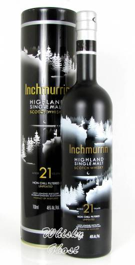 Inchmurrin 21 Jahre 46% Vol. 0,7 Liter - Bild vergrößern