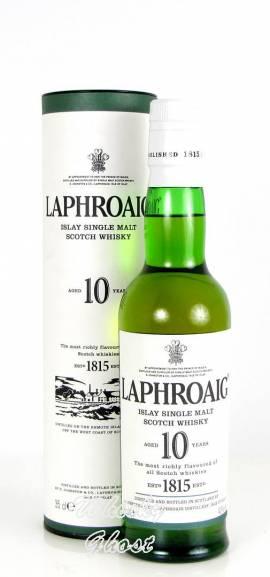 Laphroaig 10 Jahre 40% Vol. 0,35 Liter - Bild vergrößern