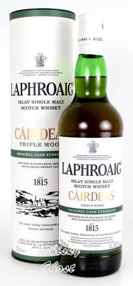 Laphroaig Cairdeas 2019 Triple Wood 59,5% Vol. 0,7 Liter - Bild vergrößern