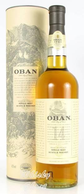 Oban 14 Jahre 43% Vol. 0,7 Liter - Bild vergrößern