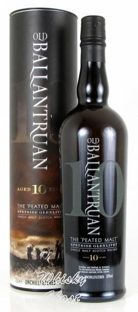 Old Ballantruan 10 Jahre 50% Vol. 0,7 Liter - Bild vergrößern