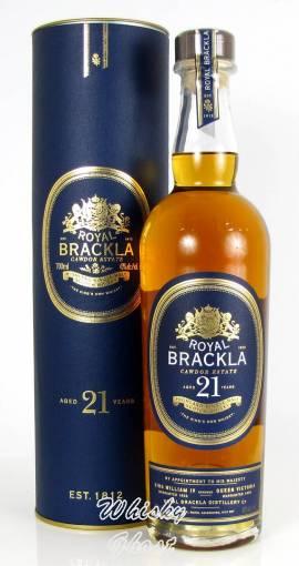 Royal Brackla 21 Jahre 40% Vol. 0,7 Liter - Bild vergrößern