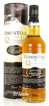 Tomintoul 12 Jahre Oloroso Sherry 40% Vol. 0,7 Liter